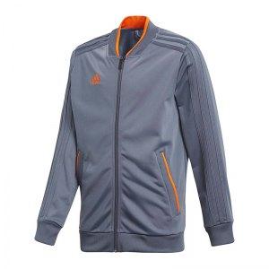 adidas-condivo-18-polyesterjacke-kids-grau-orange-fussball-teamsport-football-soccer-verein-cf4333.jpg