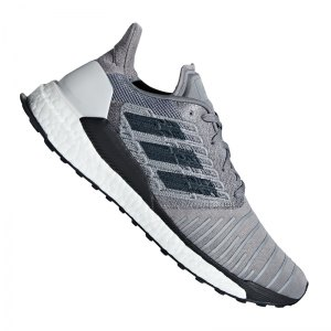 buy popular 189bc e6366 adidas-solar-boost-running-grau-sport-laufen-jogging-