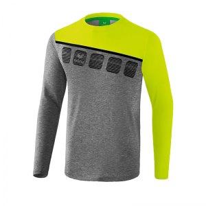 erima-5-c-longsleeve-grau-gruen-fussball-teamsport-textil-sweatshirts-1331908.jpg