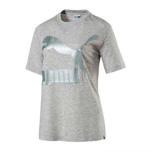 puma-classics-logo-tee-t-shirt-damen-grau- e370e048b8