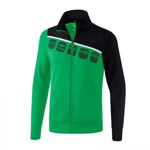 erima-5-c-polyesterjacke-gruen-schwarz-fussball-teamsport-textil-jacken-1021904.jpg