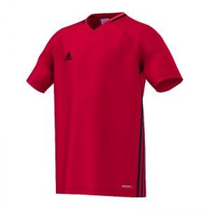 adidas-condivo-16-trainingsshirt-kids-kinder-children-oberteil-kurzarm-verein-sportbekleidung-rot-s93537.jpg