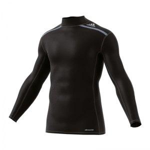 adidas-tech-fit-chill-mock-schwarz-unterziehshirt-underwear-funktionskleidung-ai3340.jpg