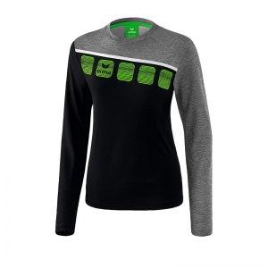 erima-5-c-longsleeve-damen-schwarz-grau-fussball-teamsport-textil-sweatshirts-1331913.jpg