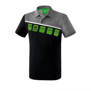 erima-5-c-poloshirt-schwarz-grau-fussball-teamsport-textil-poloshirts-1111904.jpg