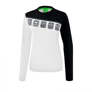 erima-5-c-longsleeve-damen-weiss-schwarz-fussball-teamsport-textil-sweatshirts-1331912.jpg