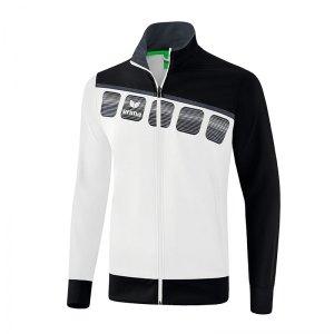 erima-5-c-praesentationsjacke-weiss-schwarz-fussball-teamsport-textil-jacken-1011903.jpg