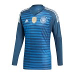 adidas DFB Deutschland Torwarttrikot WM 2018 Blau - blau