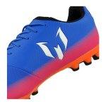 adidas Messi 16.3 AG J Kids Blau Weiss Orange - blau