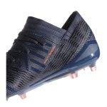 adidas NEMEZIZ 17.1 FG Damen Blau Pink - blau