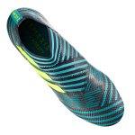 adidas NEMEZIZ 17+ 360Agility FG Blau Gelb - blau