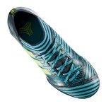 adidas NEMEZIZ Tango 17.3 TF J Kids Blau Gelb - blau
