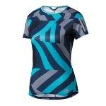 adidas Response Graphic T-Shirt Running Damen Blau - blau