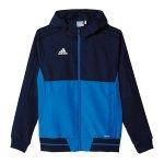 adidas Tiro 17 Präsi-Jacke Kids Blau - blau