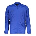 Nike Dry Academy Jacket Trainingsjacke Kids F405 - blau
