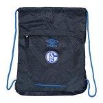 Umbro FC Schalke 04 Gymsack Blau FGX9 - blau