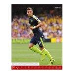 Fußball Superstars Posterkalender 2017 - rot