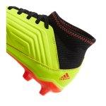 adidas Predator 18.3 FG J Kids Gelb Schwarz - gelb