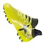 adidas X 17.1 AG Gelb Blau - gelb