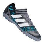 adidas NEMEZIZ Messi Tango 17.3 TF Grau Blau - grau