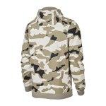 Nike Club Camo Fullzip Hoody Grau F072 - grau