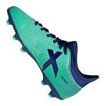 adidas X 17.3 FG J Kids Grün Blau - gruen