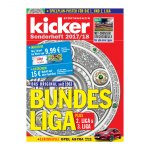 kicker Sonderheft Bundesliga 2017/18 - weiss