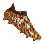 adidas X 17.1 FG Grün Orange - orange