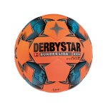 Derbystar Bundesliga Brillant APS Winter Fussball F729 - orange