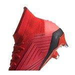 adidas Predator 19.1 SG Rot Schwarz - rot