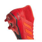 adidas Predator 19.3 FG Rot Schwarz - rot
