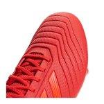 adidas Predator 19.3 SG Rot Schwarz - rot