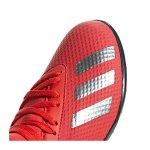 adidas X 18.3 TF J Kids Rot Blau - rot