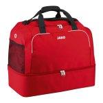Jako Classico Sporttasche mit Bodenfach Gr. 3 F01 - rot