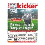 kicker Ausgabe 021/2018 vom 08.03.2018 - rot