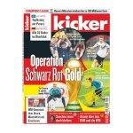 kicker Ausgabe 047/2018 vom 07.06.2018 - rot