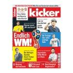 kicker Ausgabe 049/2018 vom 14.06.2018 - rot