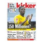 kicker Ausgabe 065/2017 vom 10.08.2017 - rot