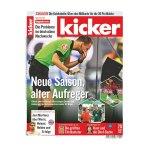 kicker Ausgabe 070/2018 vom 27.08.2018 - rot