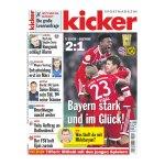 kicker Ausgabe 103/2017 vom 21.12.2017 - rot