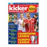 kicker Champions League/Europa League 2018 - rot
