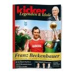 kicker Legenden & Idole Beckenbauer - rot