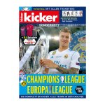 kicker Sonderheft Champions League 2018/19 - rot
