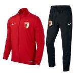 Nike FC Augsburg Präsentationsanzug Kids Rot F657 - rot