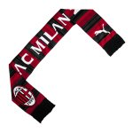 PUMA AC Mailand Scarf Fanschal Rot Schwarz F01 - rot