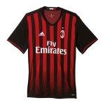 adidas AC Mailand Trikot Home Kids 16/17 Schwarz - schwarz