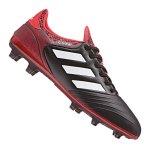 adidas COPA 18.2 FG Schwarz Rot - schwarz