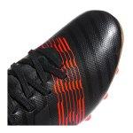 adidas NEMEZIZ 17.3 AG J Kids Schwarz Rot - schwarz