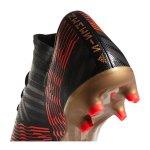 adidas NEMEZIZ 17.3 FG Schwarz Rot - schwarz