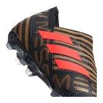 adidas NEMEZIZ Messi 17+360Agility FG Kids Schwarz - schwarz